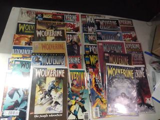 large lot of Wolverine Comics