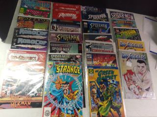 large lot of Various Comics  Green Hornet Dr  Giggles Spider Man