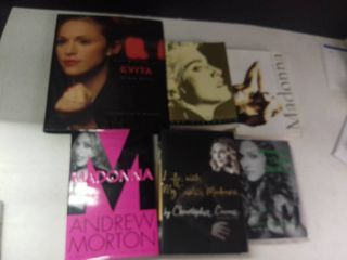 lot of 6 Madonna Books