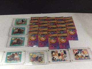 lot of TY Beanie Baby Collectors Cards