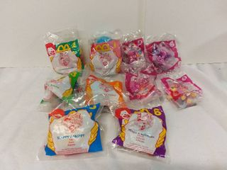 lot of 10 Mcdonalds Happy Meal Toys   1994 Anamaniacs Toys and 2014 My little Pony Toys