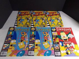 lot of 6 Simpsons Illustrated Magazines
