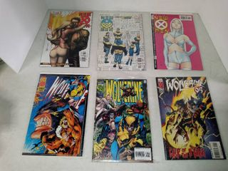 lot Of 6 Assorted Marvel Comic Books