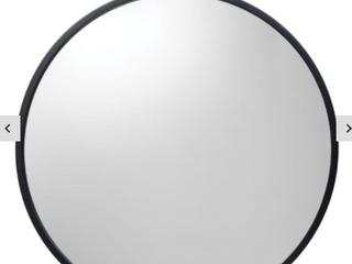 Keyhole Metal Mirror