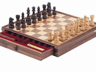 Deluxe Wooden Chess Set