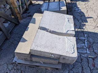 2 Pieces of Precast Concrete