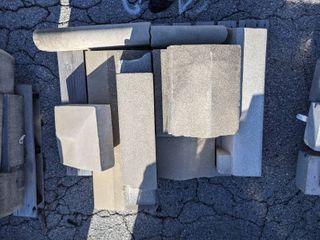 10 Pieces of Precast Concrete