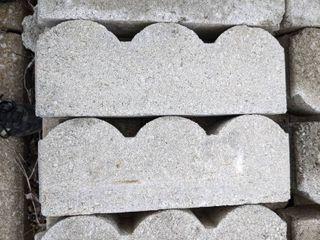 Gray Scalloped Edge Pavers  220