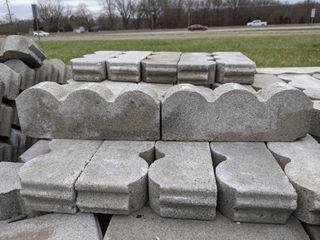 Gray Scalloped Edge Pavers  150