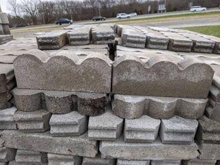 Gray Scalloped Edge Pavers  240