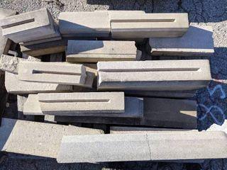 24 Pieces of Precast Concrete