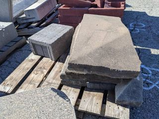 8 Pieces of Precast Concrete