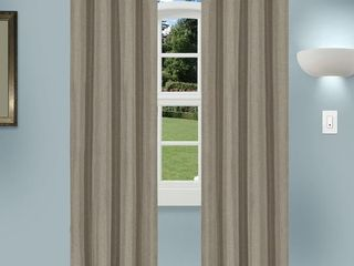 Superior linen Insulated Thermal Blackout Grommet Curtain Panel Pair   Retail   37 66