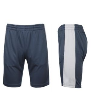 Galaxy By Harvic Men s Moisture Wicking Active Cotton Blend Performance Shorts  Set of 2  Retail   48 99