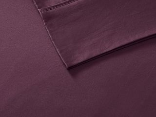 Comfort Classics 600 Thread Count 100  Pima Cotton Sateen Sheet Set   Retail   93 48