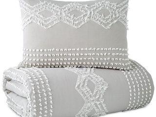 Porch  amp  Den  Peri Home Midea Geometric Pattern Cotton Sham King SHAM ONlY   Retail   41 22