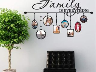 Style  amp  Apply Family Picture Frame Vinyl Wall Decal   Retail   28 04