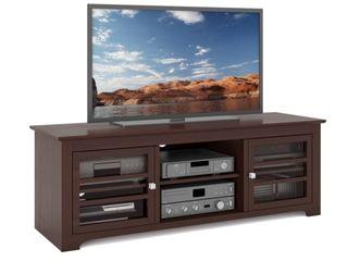 West lake 60 in  Dark Espresso Wood TV Stand   Retail   356 71