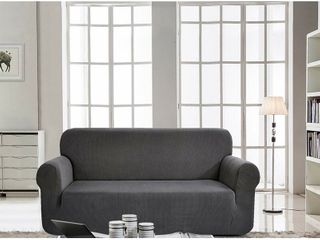 Elegant Comfort Collection luxury Soft Furniture Jersey Slipcover   Retail   29 99