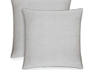 Piper  amp  Wright Gracewood Hollow Jadav Euro Pillow Sham Sabrina   Retail   49 99