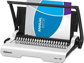 Fellowes Binding Machine Star  Comb Binding  5006501 Gray