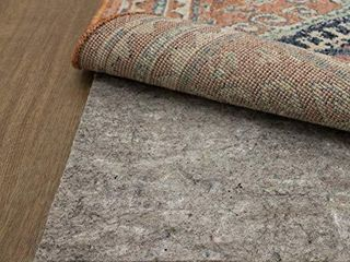 Mohawk Home Dual Surface Felt and latex Non Slip Rug Pad  1 4  Thick  2 x12  Brown