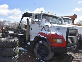 1995 Ford L9000 Roll Off Container Truck