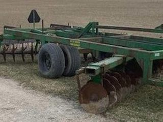 14ft Offset Disc with Harrows