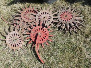 10 Rotary Hoe Wheel