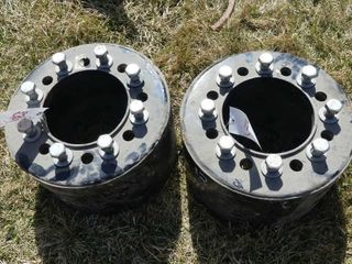 Pair of Unverferth 10in 8 Bolt Spacers