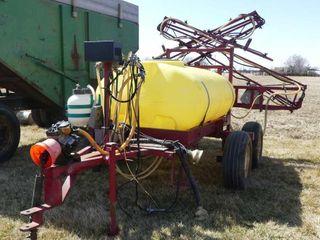 Hardi 400 Gallon Tandem Trail Sprayer w 45ft Boom