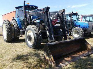 New Holland TM135 MFWD  5019hrs