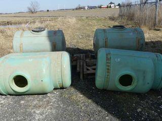 2 110Gal  Tanks w Frame  2 150Gal  Tanks
