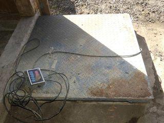 Pallet Scale w Digital Readout