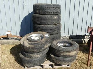 Skid of Tires