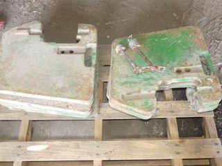 8 John Deere Suitcase Weights