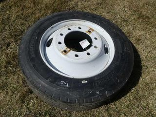 255 70R22 5 Tire and Rim