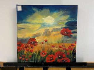 Sunlight   Poppies  by E Pauling