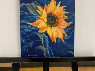 The Sunflower  painting by E Pauling