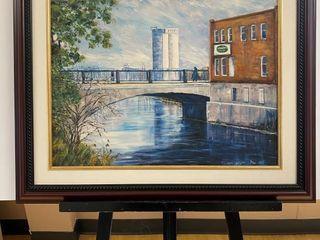 10th Street Bridge  print by E Pauling