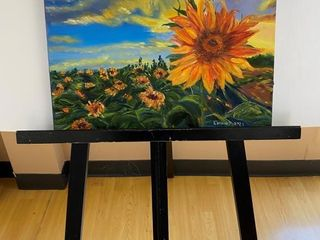 Burst of Sunflowers  painting by E Pauling