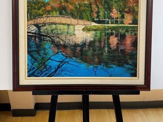 Rainbow Bridge Harrison Park  print by E Pauling