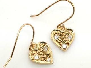 1200 18K Diamond 0 06ct  Earrings