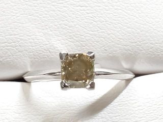 12000 10K Diamond 1 18Ct Si1 Fancy Browish Green