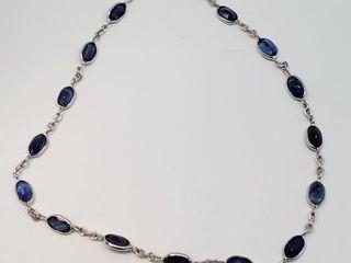 3000 14K Blue Sapphire 4 5ct  Bracelet