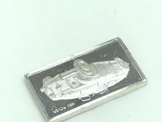 60 Silver 1 6G Bar