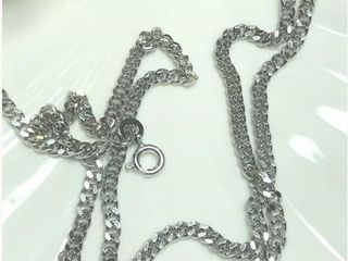 150 Silver 24  11 39G Necklace