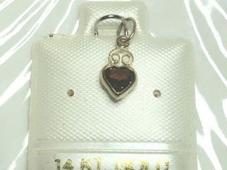 80 14K Genuine Gemstone Pendant