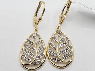 250 Silver Diamond 0 2ct  Earrings