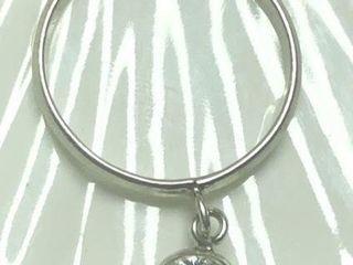 50 Silver CZ Ring